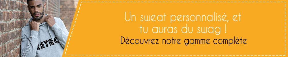 Sweat personnalisé